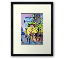Paris Arc de Triomphie  Framed Print