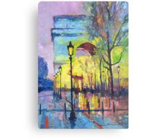 Paris Arc de Triomphie  Metal Print