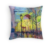Paris Arc de Triomphie  Throw Pillow