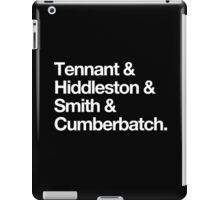 Middle-aged British Liferuiners iPad Case/Skin