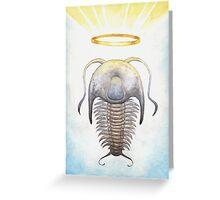 Trilobite Jesus Greeting Card