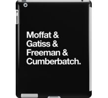 BBC Sherlock Boys iPad Case/Skin