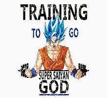 Training to go super saiyan god (vintage) Unisex T-Shirt