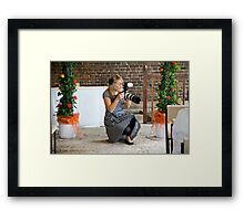 Tina and Andy 20 Framed Print
