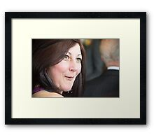 Tina and Andy 38 Framed Print