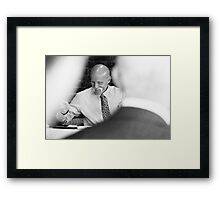 Tina and Andy 50 Framed Print