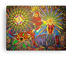 kakasana digital - 2012 Canvas Print