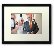 Tina and Andy 77 Framed Print
