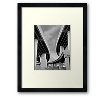 Steel & Sky II Framed Print