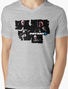 Payday 2 Mens V-Neck T-Shirt