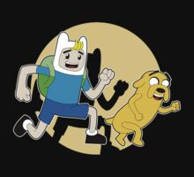 The Adventures of Finn and Jake One Piece - Short Sleeve
