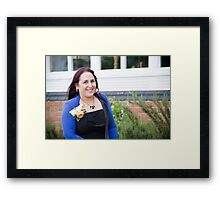Tina and Andy 151 Framed Print
