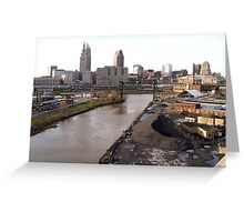 Gritty City Greeting Card
