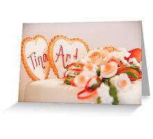 Tina and Andy 184 Greeting Card