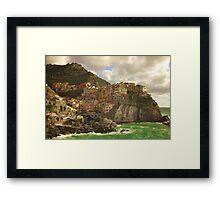 Manarola Framed Print