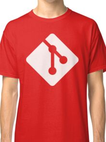 Git - White logo Classic T-Shirt