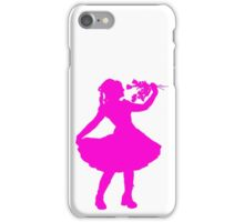 Oh Honey, You KNEW!! (Pink Silhouette 1) iPhone Case/Skin
