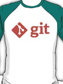 Git - Red logo T-Shirt