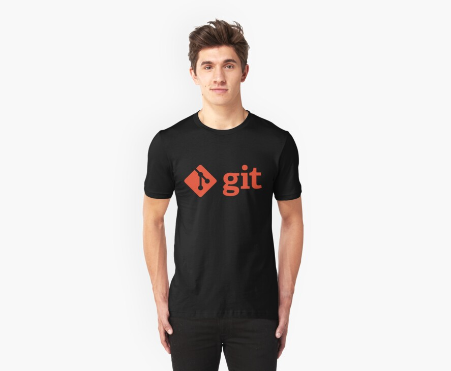 Git - Red logo by Ozh !