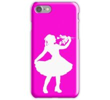Oh Honey, You KNEW!! (White Silhouette 2) iPhone Case/Skin