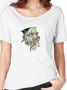 Psychobilly scolled Women's Relaxed Fit T-Shirt
