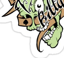 Psychobilly scolled Sticker