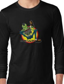 zombie snack Long Sleeve T-Shirt