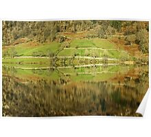 A Lakeland Abstract Poster