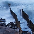 Lynmouth - Incoming Tide by Toby Wilson