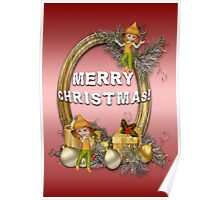 A Fairy Merry Christmas Poster
