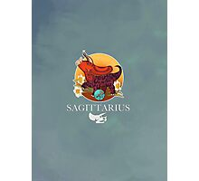Sagittarius Dinosaur Zodiac Photographic Print