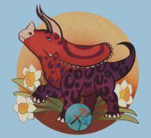 Sagittarius Dinosaur Zodiac Kids Tee