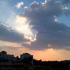 A Jordanian Summer Sky by Dana Al-Aghbar