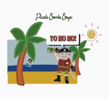 Pirate Santa says Yo Ho Ho - Muriel Cameo by Weber Consulting