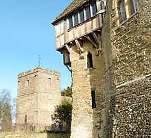 Stokesay Castle and Church by crisscross
