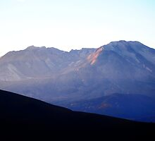 St Helens Crater in the Early Light by Loisb