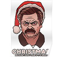 Ron Swanson Christmas Poster