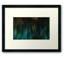 Thistles in Blue Framed Print