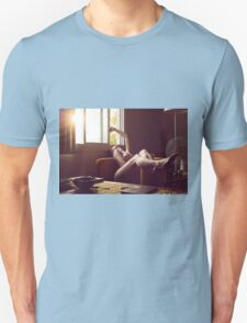 The Sun Also Eroticizes - perfect cute girl erotic nude love calm nature white proud awesome T-Shirt