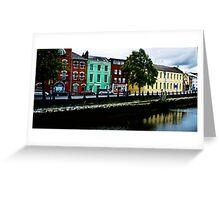 Sullivan's Quay in Cork Greeting Card