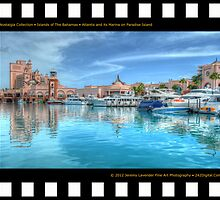 Nostalgia Collection • Islands of The Bahamas • Atlantis and its Marina on Paradise Island by 242Digital