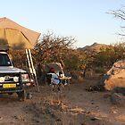 Namibia Kaokoveld Campfire Van Zyls Pass by kunene276