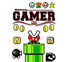 GAMER - Retro (iPad) by Adam Angold