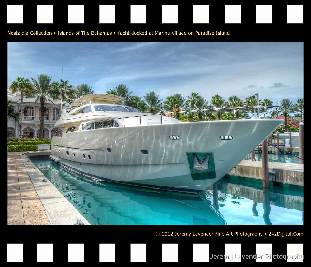 Nostalgia Collection • Islands of The Bahamas • Yacht docked at Marina Village on Paradise Island by Jeremy Lavender Photography