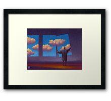 The Sky Collector Framed Print