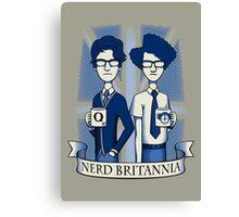 Nerd Britannia Canvas Print