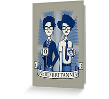 Nerd Britannia Greeting Card