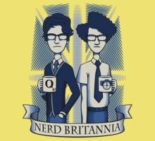 Nerd Britannia Kids Clothes