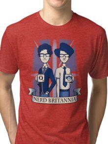 Nerd Britannia Tri-blend T-Shirt