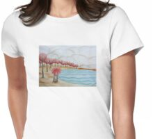 Autumn forest Womens Fitted T-Shirt